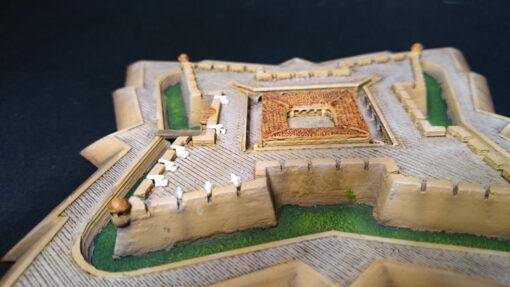 Maqueta de castillo San Luis de Bocachica