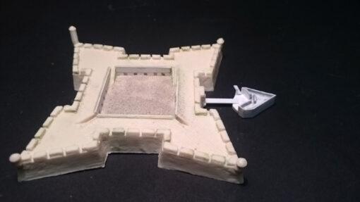 prototipo resina castillo Julián