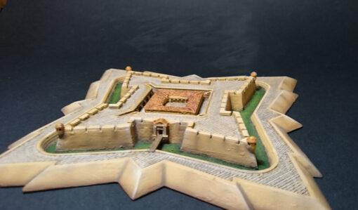 Maqueta castillo San Luis de Bocachica