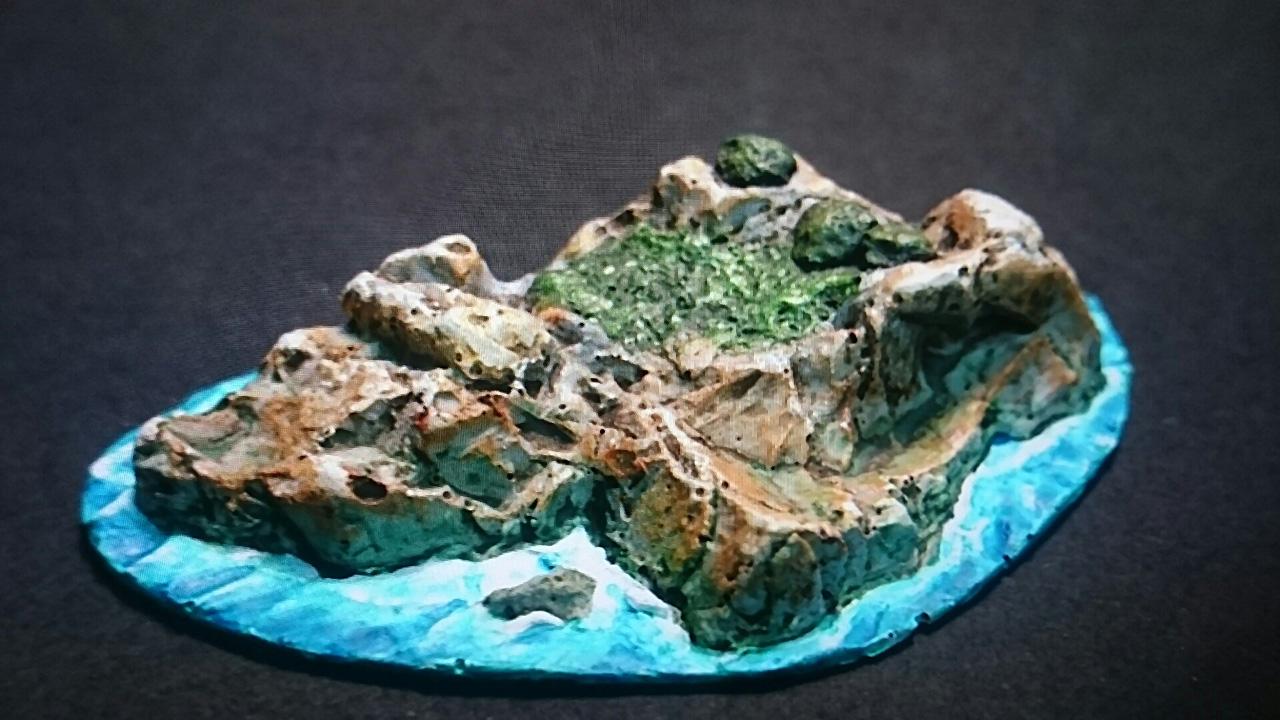 Maqueta isla pequeña