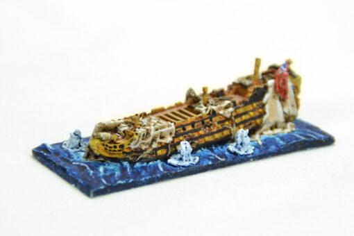 Navío desarbolado. Sails of GLory