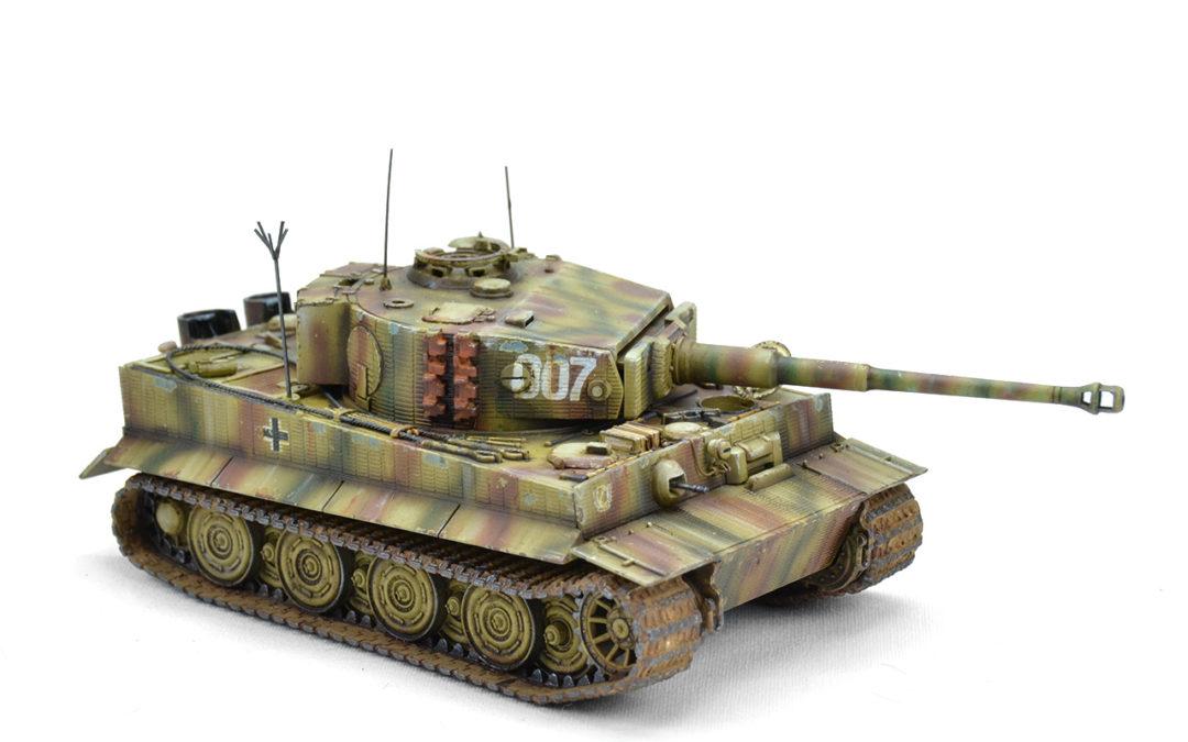 Pintura del Tiger 007 de Wittman