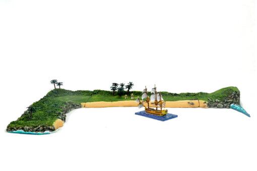 Escenografía pintada Sails of Glory