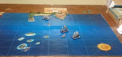 Tapete para juegos navales